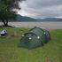 Campsite On The Danube