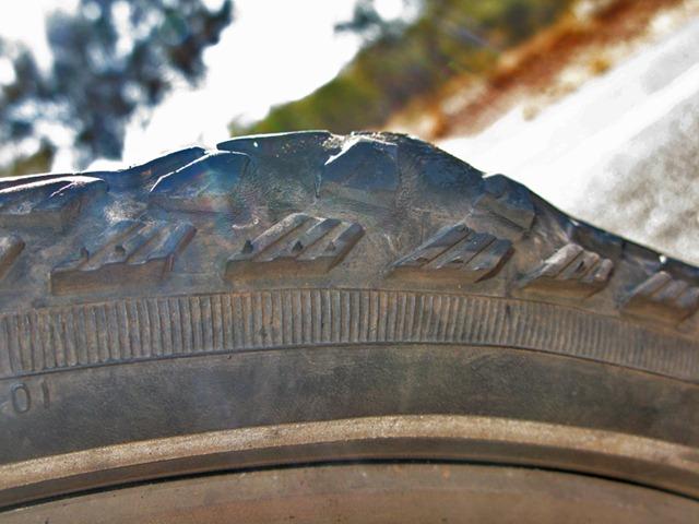 Split tyre