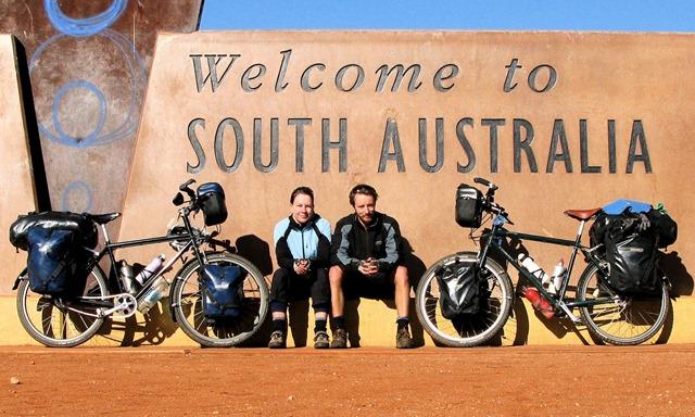 South Australian border