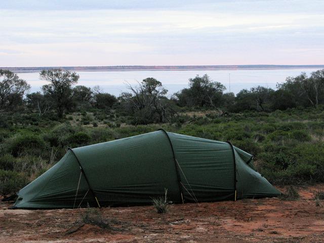 Camping at Lake Hart