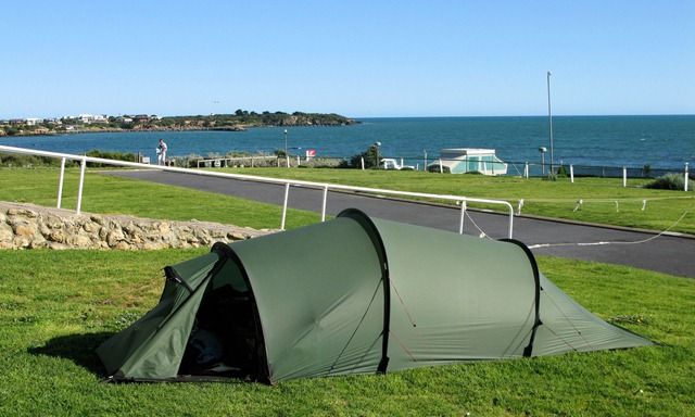 Campsite in Robe