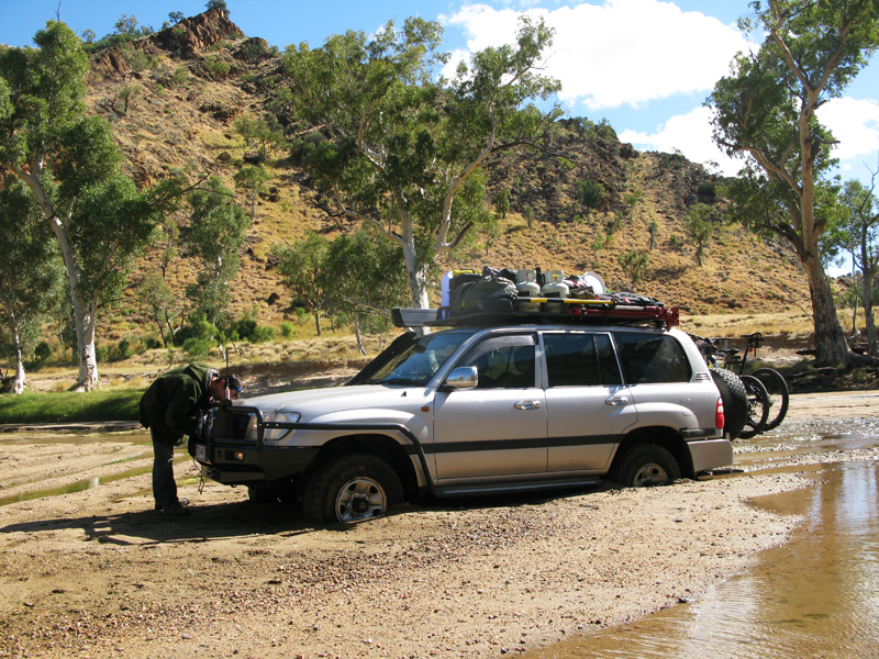 Bogged. Now Where Is That Winch?