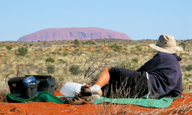 Lunch With Uluru