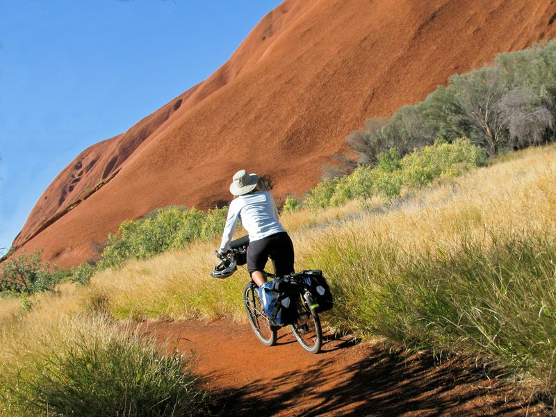 Cycling Around The Rock   Uluru