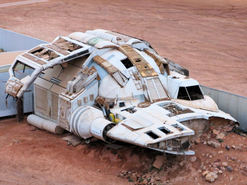 Space Ship, Coober Pedy