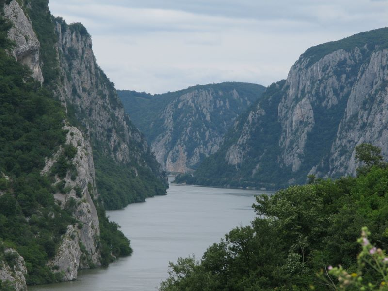 Danube's Narrowest Part