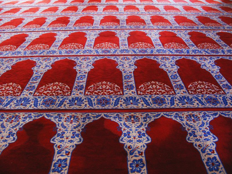 Mosque Prayer Carpet