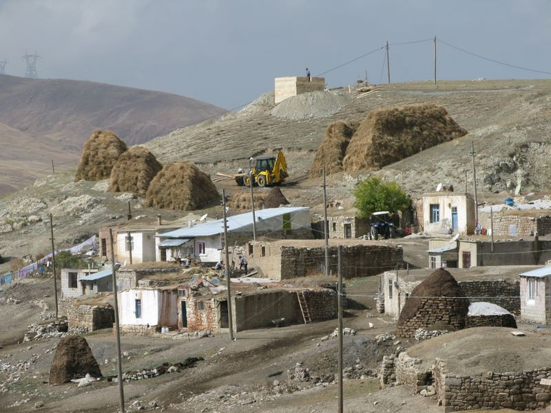 Typical Eastern Anatolian Mountain Village