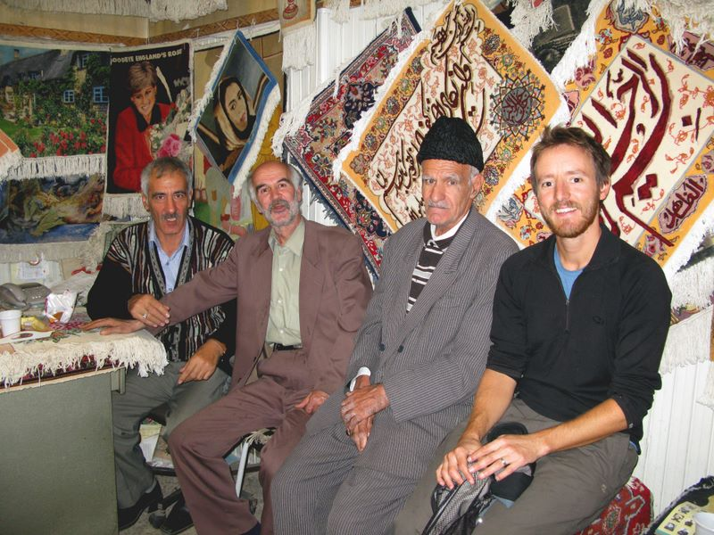 Talking Rugs With The Carpet Sellers