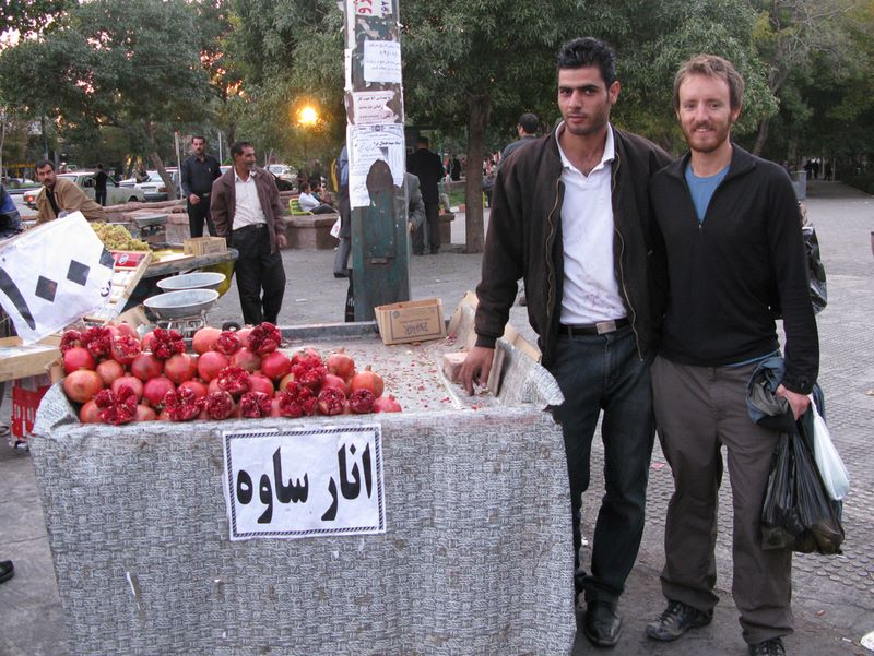 FOUND: The World's Best Looking Pomegranate Seller