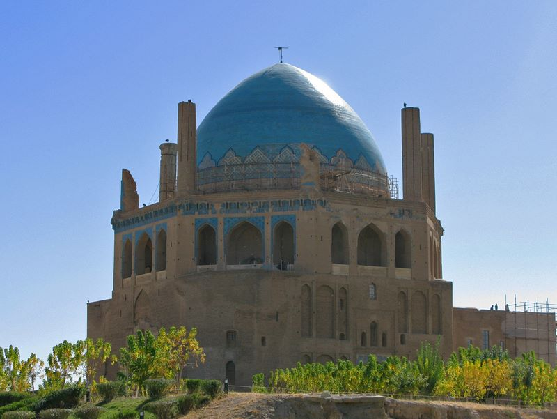 Mongol Soltaniyeh Mausoleum From AD 1302