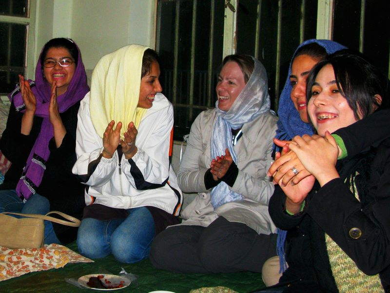 Socialising With An Iranian Family