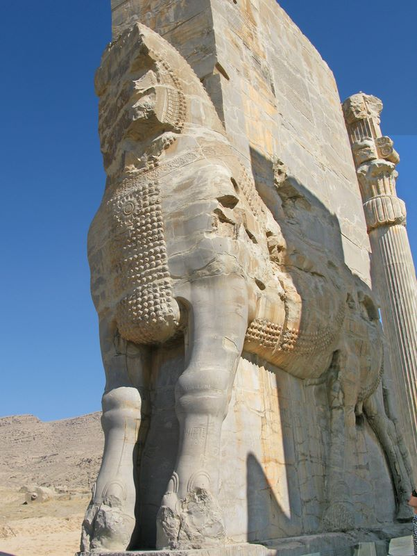 Entrance To Ancient City, Persepolis