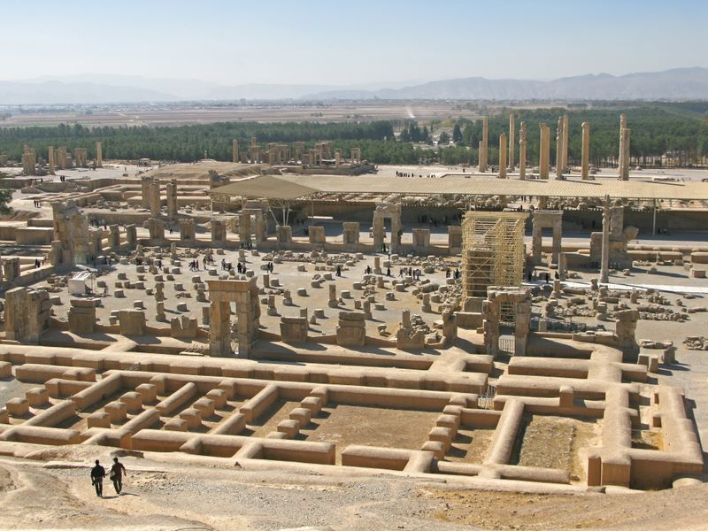 Persepolis, Built In 500BC By Darius I