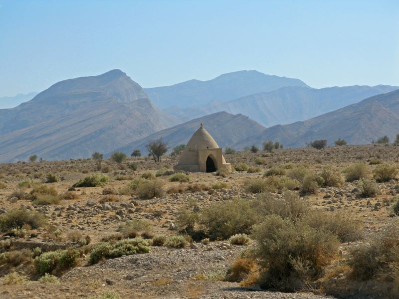 Desert Cistern; Used To Access Underground Water