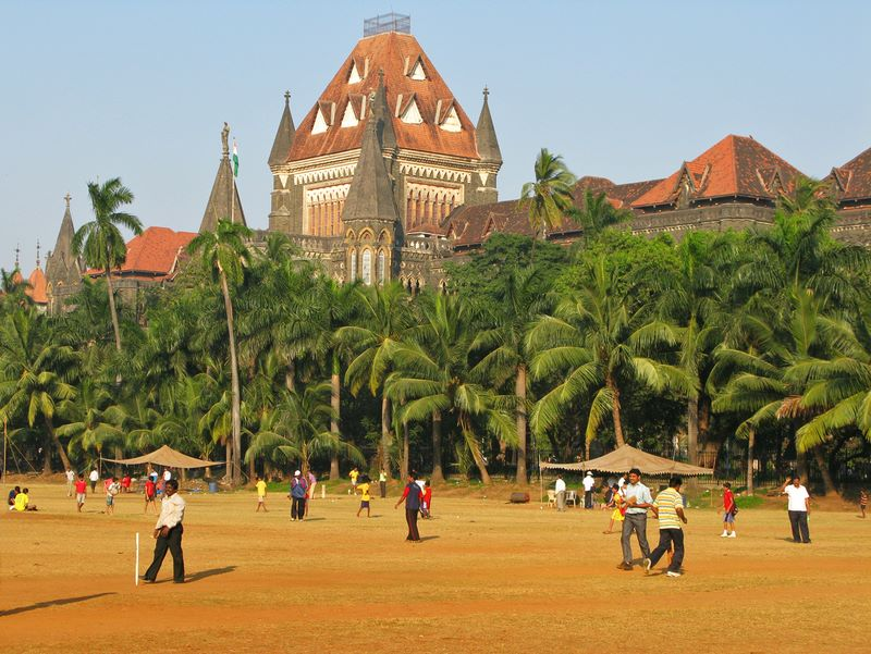 Oval Maidan With High Court In Background