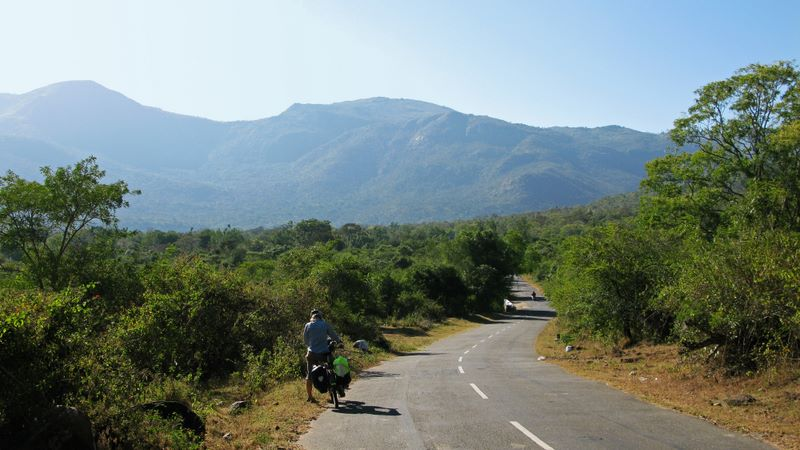 Approaching The 36 Hairpin Bend Climb To Ooty At 2,300m